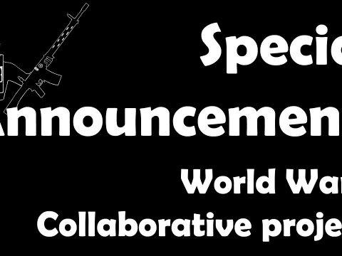 Massive collaborative real-time WW2 project!