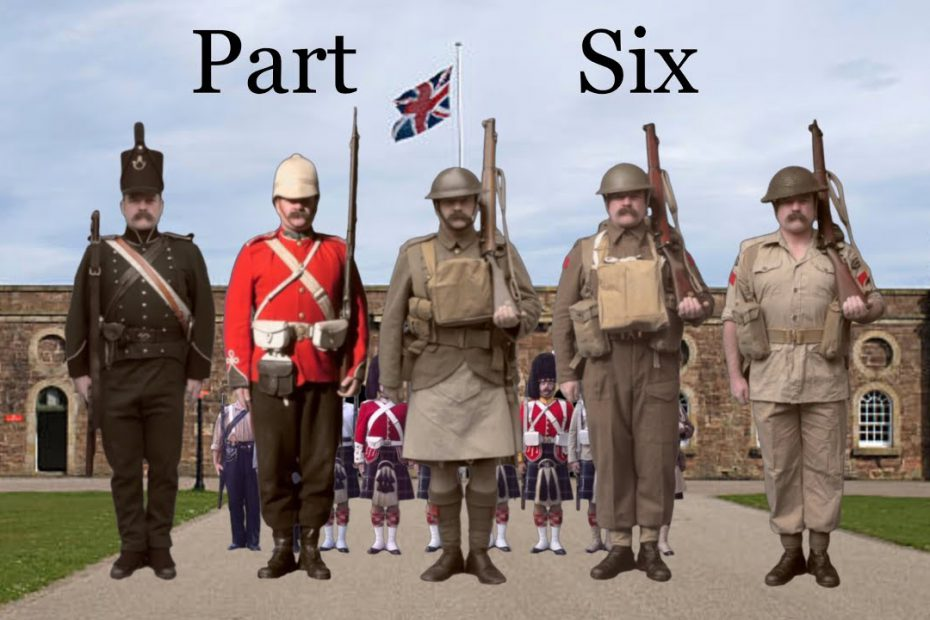 The Kit of Britishmuzzleloaders: PART SIX – The 95th, The 24th and a Seaforth of the Great War