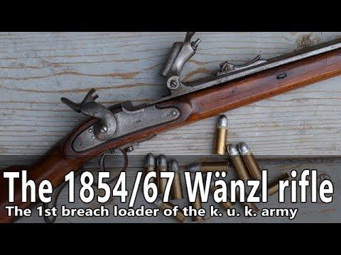 The 1854/67 Wänzl rifle in caliber 14x33R