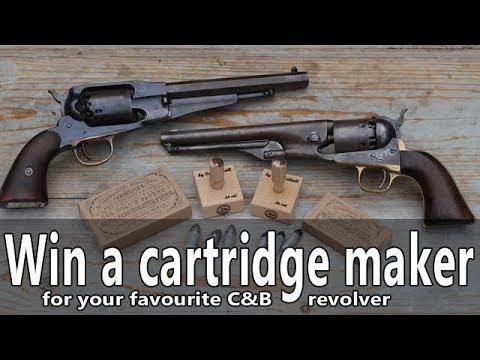Win a Capandball percussion revolver cartridge maker tool