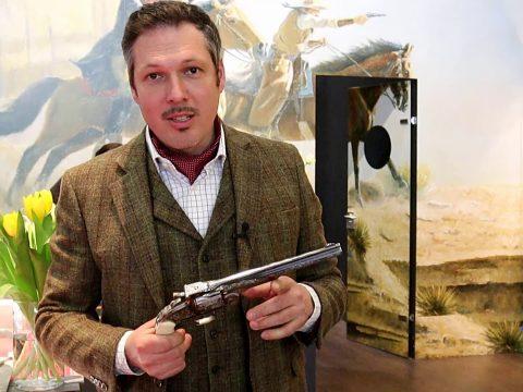 Uberti 1894 lever action rifle and new revolvers at IWA 2019