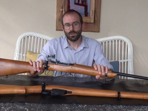 A first generation British 7.62mm Target Rifle based on a Lee-Enfield No.4