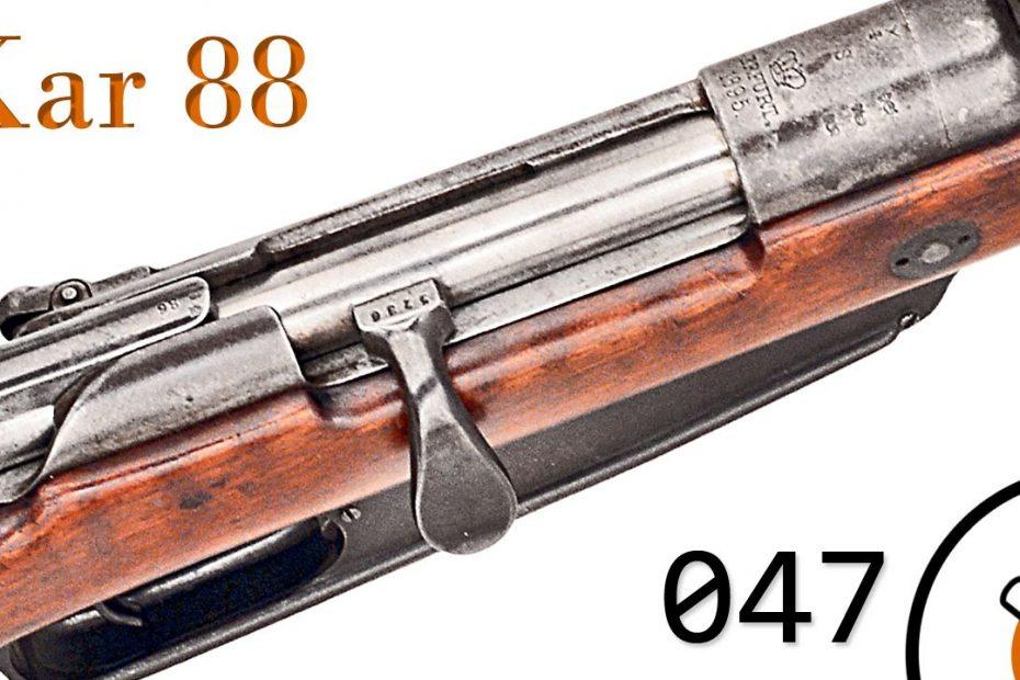 Small Arms of WWI Primer 047: German Karabiner 88 and Gewehr 91