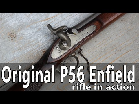 Shooting the original P56 Enfield rifle
