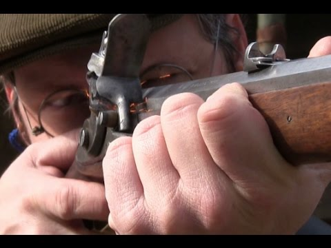 Shooting an original 1796 M Jägerstutzen flintlock rifle – trailer