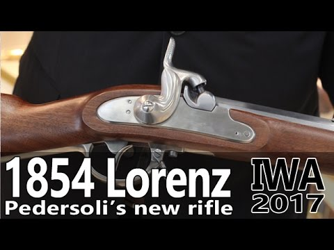 Pedersoli Lorenz rifle and other new stuff at IWA 2017 Part 1