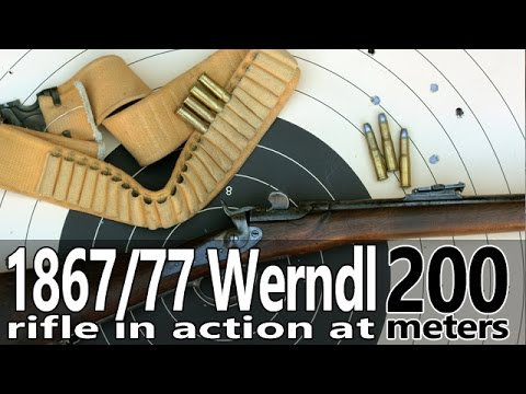 Shooting the 1867/77 Werndl rifle to 200 meters