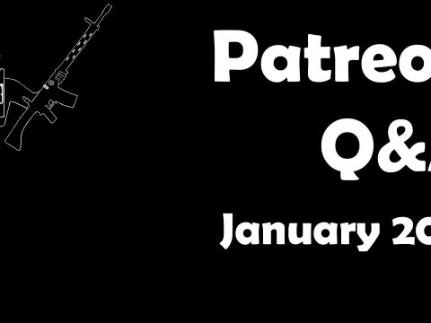 Patreon Q&A: January 2018 Edition