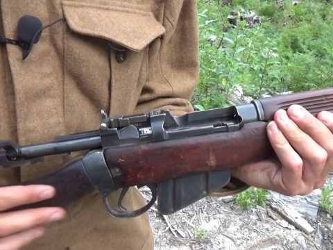 EXTRA VID: The state of Rob's .303 Lee-Enfield No.4 at the end of our filming epic!
