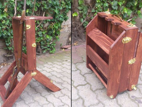 The ultimate portable blackpowder shooting stand