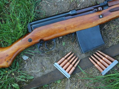 Shooting the SVT40 semiauto rifle – teaser