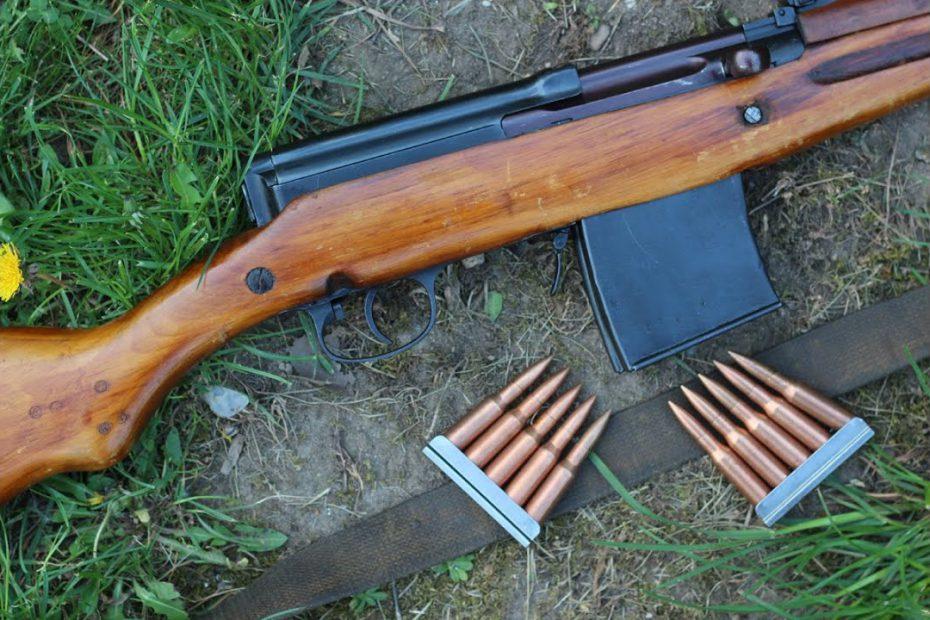 Shooting the SVT40 semiauto rifle – teaser