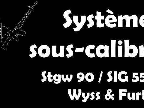 ENGLISH LINKED IN DESC ¦¦ Systèmes sous-calibre pour FASS 90 / SIG 550