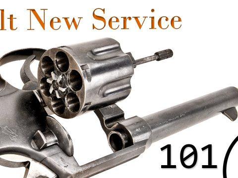Small Arms of WWI Primer 101: Colt New Service Revolver