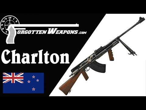 From Bolt Action Lee to LMG: The Charlton Automatic Rifle