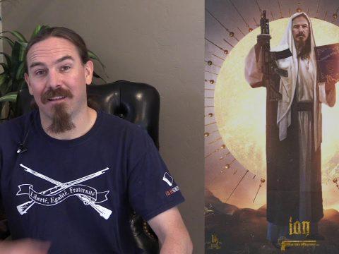 """H&K """"Gun Jesus"""" Poster"""