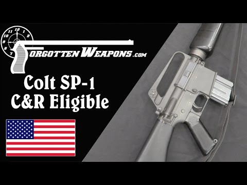 Yeah, the AR15 is Now Becoming C&R Eligible