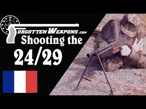 Shooting the Chatellerault FM 24/29 Light Machine Gun