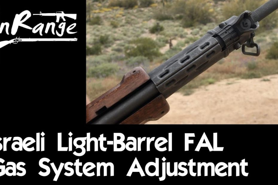 FAL Gas System Adjustment