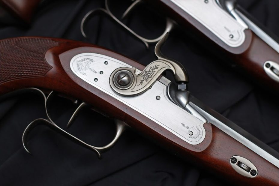 Shooting the Pedersoli LePage percussion pistol