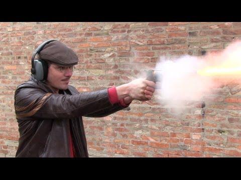 Shooting the original Civil War Starr DA percussion revolver