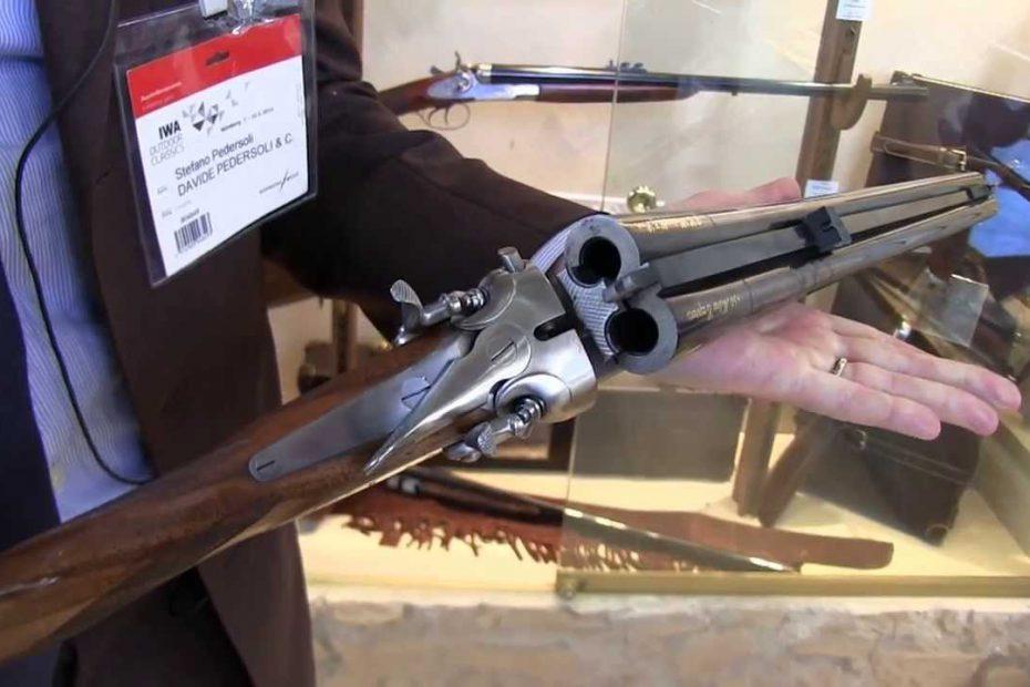 New Pedersoli guns at IWA2014