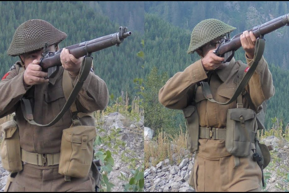 The No 4, Mk I* Lee Enfield:  Musketry of World War II – Advanced Snap Shooting