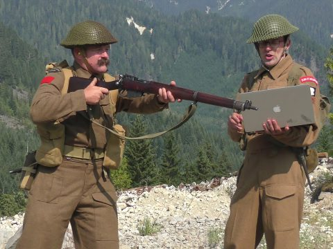The No 1, Mk III* and the No4, Mk I*: CQB Shooting of World War Two -PART TWO-