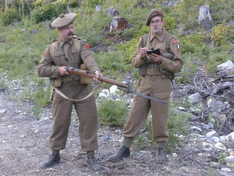 The No 1, Mk III* and the No4, Mk I*: CQB Shooting of World War Two -PART ONE-