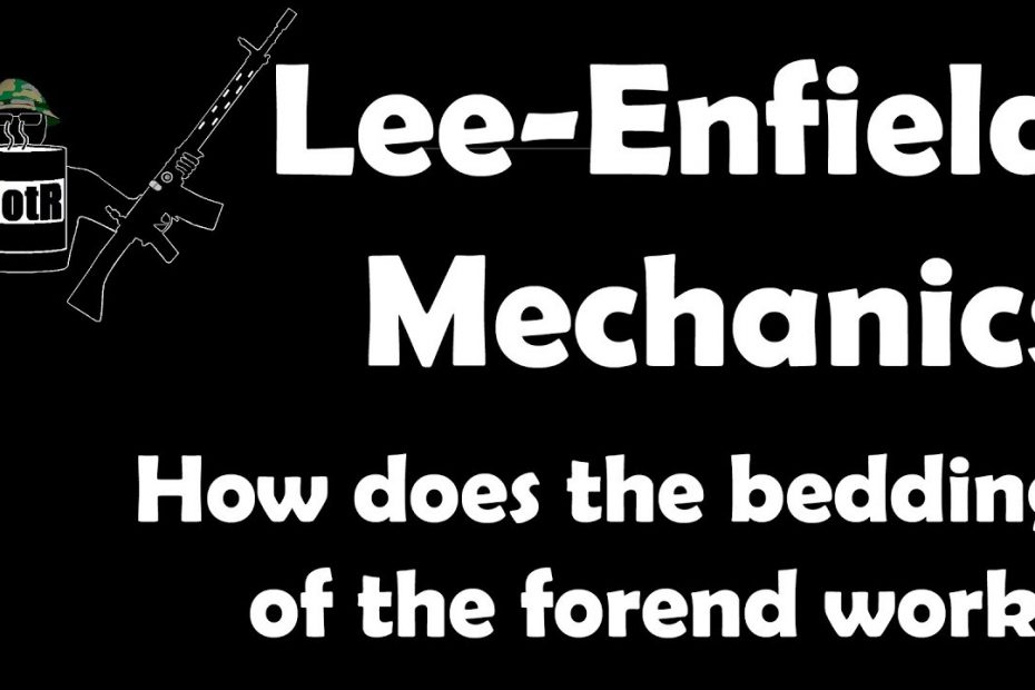 How Lee-Enfield No.4 forend stocking-up works