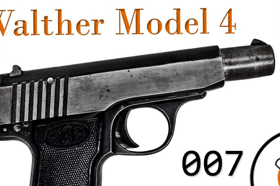 Small Arms of WWI Primer 007: German Walther Model 4 Pistol