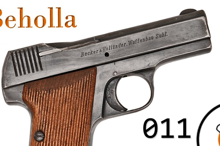 Small Arms of WWI Primer 011: German Becker & Hollander Beholla Pistol