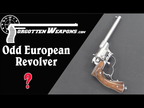 Strange Unique European Revolver