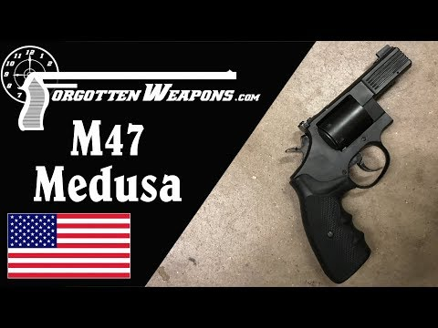 Phillips & Rodgers M47 Medusa: Multicaliber Revolver for a Nonexistent Apocalypse