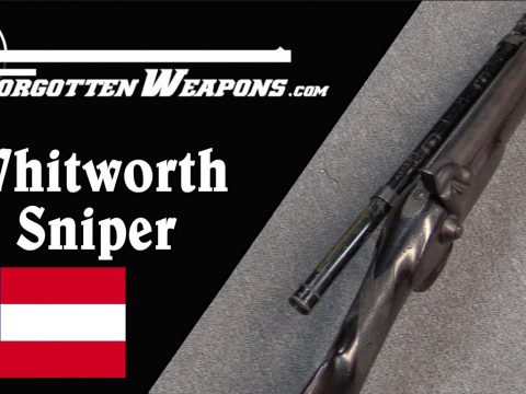 Confederate Whitworth Sniper: Hexagonal Bullets in 1860