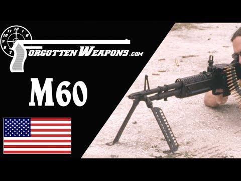 Original Vietnam-Era M60 at the Range