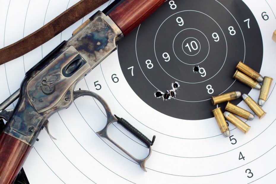 Hole in hole accuracy with 44/40 Uberti 1873 Winchester and BPCR ammo