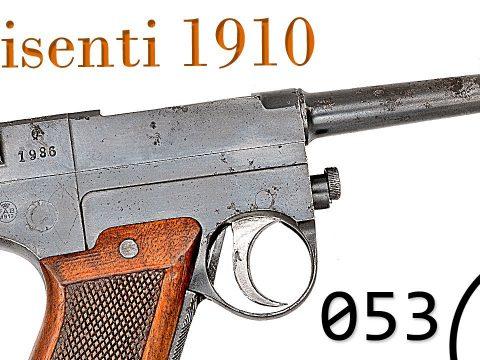Small Arms of WWI Primer 053: Italian Glisenti 1910