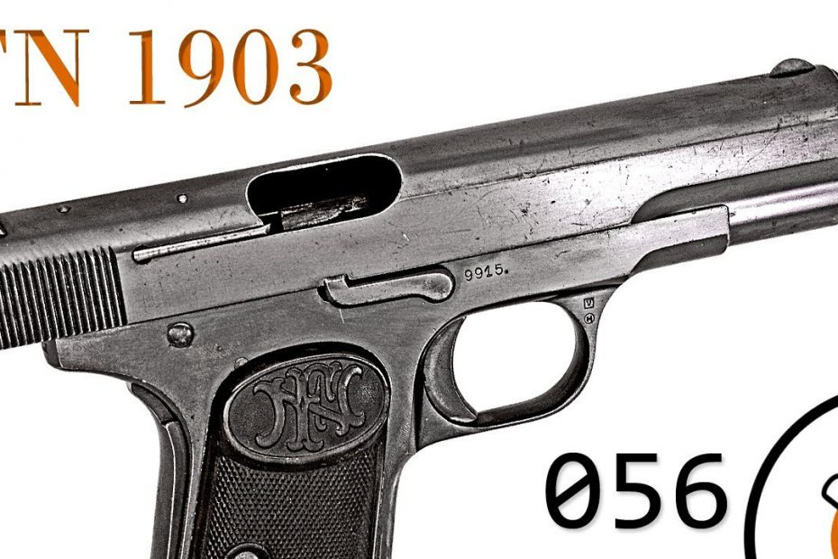 Small Arms of WWI Primer 056: Belgian FN 1903