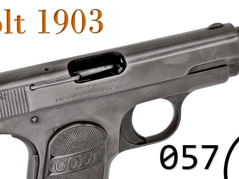 Small Arms of WWI Primer 057: Belgian Contract Colt 1903