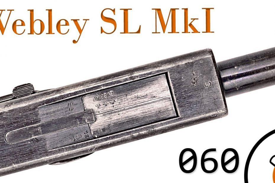 Small Arms of WWI Primer 060: British Webley Self Loader Mk I N