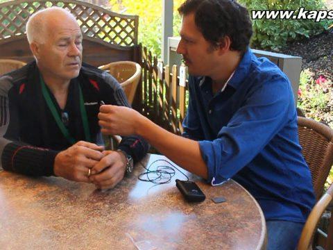 Interview with David Brigden in Pforzheim 2012