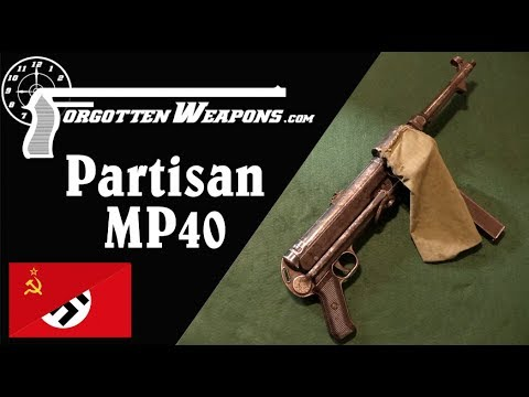 Ukrainian or Russian Partisan Modified MP40
