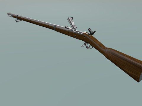 Trapdoor Springfield rifle