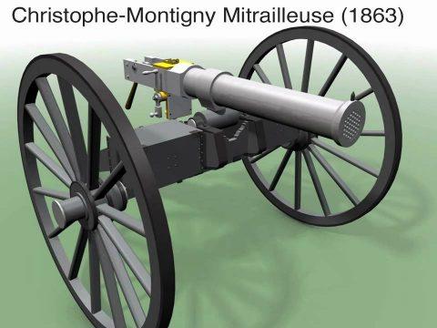 Montigny Mitrailleuse 1863
