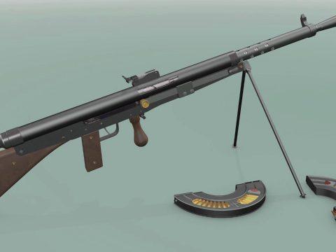 Chauchat Automatic Rifle 1915
