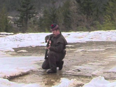Loading on the Move with the P60 Enfield Army Short Rifle
