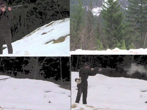 Rapid Shooting with the P60 Enfield Army Short Rifle