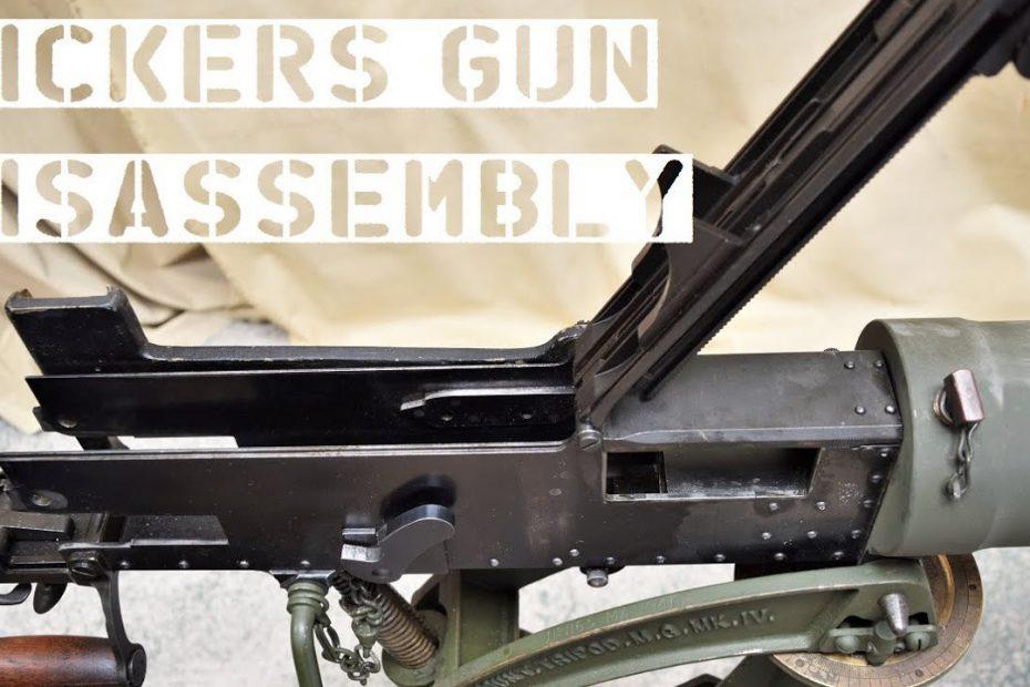 TAB Episode 52: Vickers Gun Disassembly