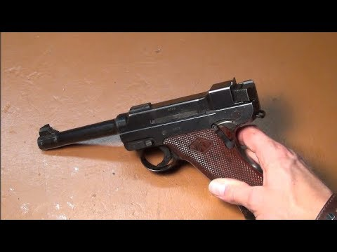 Finnish Lahti L-35 pistol disassembly, reassembly and functioning